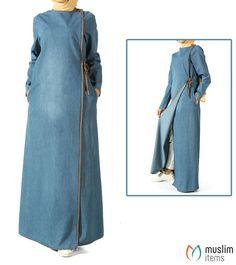 326572b0207d97  muslimitems Denim Abaya with Waist Cord - Mid Blue SKU  MIWC810263021   hijab  hijabfashion  islamic  antiques  hijabstore  quran  handwatch   jilbab ...
