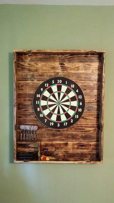 My new pallet dart board