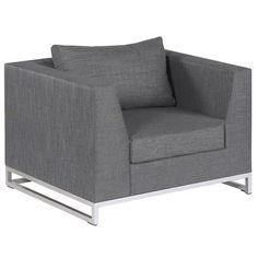 IBIZA LOUNGE Outdoor Lounge, Outdoor Living, Ibiza, Armchair, Design, Furniture, Home Decor, Modern Living Room Furniture, Teak Garden Furniture