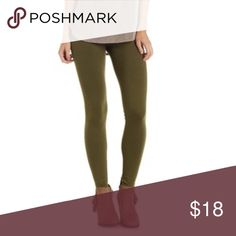 Tummy Control Olive Leggings Best Selling Leggings are Back! Super soft and comfortable. Has a nice stretch for your comfort. Hand wash. Cotton/Polyester/Spandex | Color: Olive •Fits S,M,L• Bohemian Sea Pants Leggings