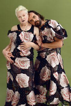 Vivienne Westwood & (partner) Andreas Kronthaler by Frederic Aranda. Vivienne Westwood, Tokyo Street Fashion, Mori Girl, Helen Mirren, Grunge Style, Soft Grunge, Punk, Girl Japanese, Japanese Fashion