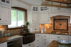 pickled cabinets kitchen | ... by for a while cabinets, to custom dream kitchen cabinets! , Kitchens