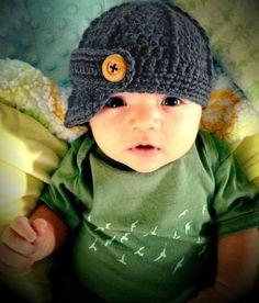 My future baby needs this hat!