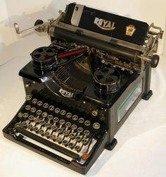 typewriter royal 10