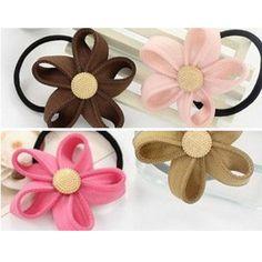 Beautiful Zipper Flower Headbands