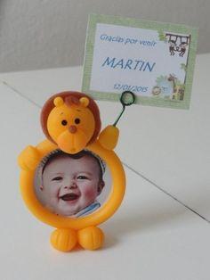Souvenirs Infantiles Animalitos De La Selva Porta Retrato 50 00 En