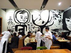 Esquina Mocotó restaurant with Speto artwork