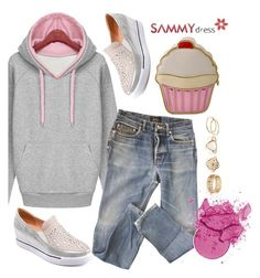 """""""Sammydress.com"""" by karic-lejla ❤ liked on Polyvore featuring A.P.C."""