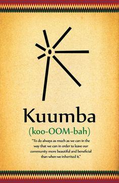Kwanzaa Day 6 Principle: Kuumba