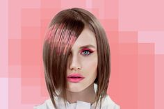Pixelated Hair Dye is the Newest Trend in Futuristic Hairstyles