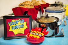 Soup-er Luncheon - Superhero Staff Appreciation Week