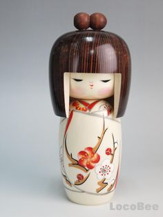 Japanese Sousaku Kokeshi Doll by Kojho / Haru no Yume(M) Japanese Sosaku Kokeshi Doll desing by Kojho