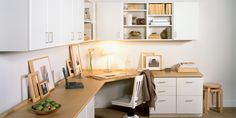 built in office cabinets home office
