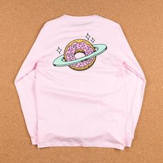 Free Shipping > Free Returns > Shop the Skateboard Cafe Planet Donut Long Sleeve T-Shirt at Flatspot, premium skateboard store since 1995.