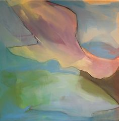 "Saatchi Art Artist Mary Elizabeth Peterson; Painting, ""Lobtailing Whale"" #art"