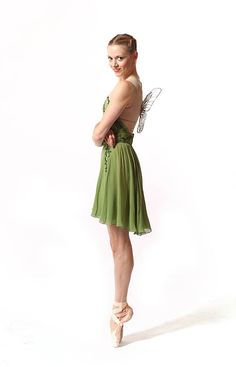 Julia Erickson as Tinkerbell PBT #ballet #dancer #pointe
