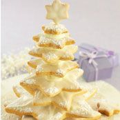 Christmas Star Biscuit Tree Recipe - Quick and easy at woolworths.com.au