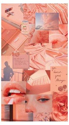 Peach Wallpaper, Iphone Wallpaper Tumblr Aesthetic, Pink Wallpaper Iphone, Retro Wallpaper, Aesthetic Pastel Wallpaper, Aesthetic Backgrounds, Aesthetic Wallpapers, Wallpaper Wallpapers, Iphone Wallpapers