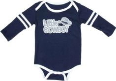 Dallas Cowboys New Born Navy Lil Player LongSleeve Bodysuit by NFL. $15.99. Have your little sports fan support the family's favorite team with this Dallas Cowboys New Born Navy Lil Player Long Sleeve Bodysuit. This piece of Dallas Cowboys team gear features vibrant screen print graphics and is machine washable. Your little Cowboys enthusiast will become the ultimate believer with this comfy piece of Dallas Cowboys team gear.