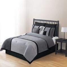 Home Classics® Microplush Noah 8-pc. Comforter Set