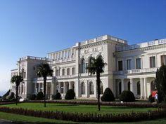 Ливадийский дворец. Ялта.