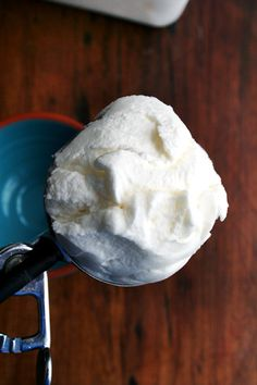 Lemony, perfectly sweet, creamy-textured, this mascarpone sorbet, which comes together in minutes, is so refreshing and so delicious.