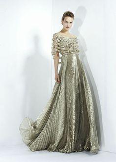 Silver wedding gown.l Zuhair Murad - Ready-to-Wear - Fall-winter 2011-2012