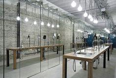 Industrial Washroom Design