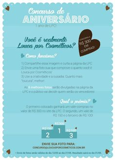 Já conferiram o concurso cultural na LPC? Participe!