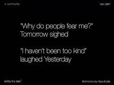 Nitya Shukla from New Delhi writes a #Community tale on #tomorrow…