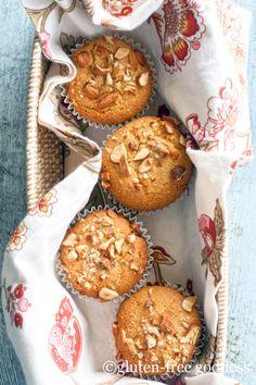 Gluten Free Orange Almond Muffins - vegan and gluten-free SUB W SEEDS