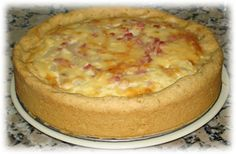 CHAMPINON/BACON QUICHE (WITH TERMOMIX) | Thermomix recipes