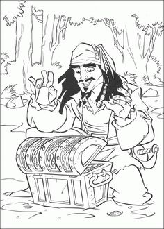 coloring page pirates of the caribbean pirates of the caribbean caribbean piratescaribbean partykids coloringcolouring
