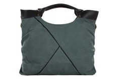Image of Moshi Wholesale Canvas Leather Tote Bag, Waxed Canvas Briefcase Messenger Bag Shoulder Bag 10059