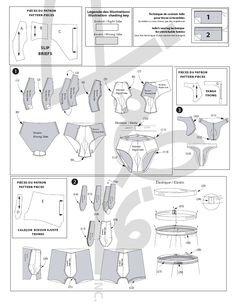 Best 11 patron couture slip homme Underwear Pattern, Men's Underwear, Mens Sewing Patterns, Sewing Pants, Couture Sewing, Sewing For Kids, Crochet Bunny Pattern, Pattern Drafting, Pattern Mixing