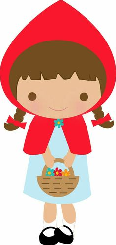 ❤ Little Red Riding Hood Red Riding Hood Party, Little Red Ridding Hood, Diy And Crafts, Crafts For Kids, Baby Posters, Barbie Party, Clip Art, Felt Patterns, Red Hood