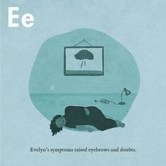 Page E from The Invisible D Raised Eyebrow, Mental Health Disorders, Reading, Day, Objects, People, Instagram, Word Reading, The Reader
