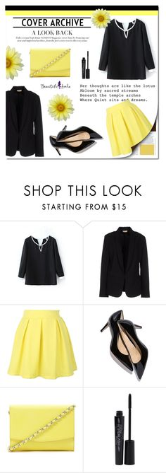 """""""Beautifulhalo 7 (II)"""" by mini-kitty ❤ liked on Polyvore featuring Mode, Maesta, Forever 21, Smashbox, women's clothing, women, female, woman, misses und juniors"""