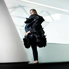 Architect Zaha Hadid's gallery space in London is to host a show of work by fashion designer Elke Walter, who creates many of the statement pieces worn by the architect.