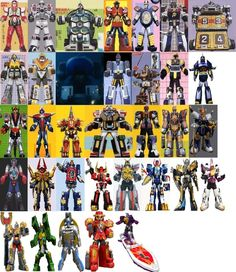 """Here's a new project of mine - showing all the """"One Zord"""" Formations present in the Power Rangers franchise. One Zord Formations All Power Rangers, Super Robot, Red Dragon, Character Inspiration, Hero, Deviantart, Kamen Rider, Goku, Entertainment"""