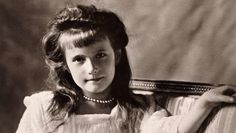 Grand Duchess Anastasia Nikolaevna, fourth child and youngest daughter of Emperor Nicholas II of Russia, in 1910.