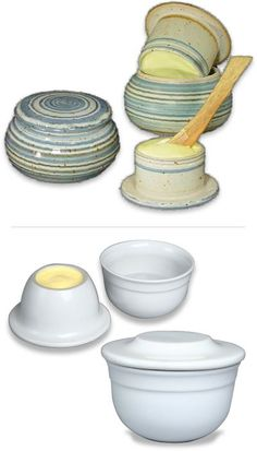 The Design Enthusiast: Friday Finds ~ French Butter Keeper (Butter Bell)