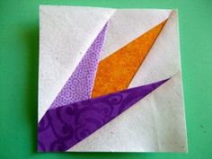 Link to a new tutorial by Carol Doak - Paper Piecing the Easy Way