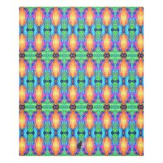 """Batallions KCFX Fleece Blanket. Wrap yourself in this exotic fleece and be transported to a parallel universe that is extraordinarily symmetrical. Echoing the currently trending """"Ikat"""" style, this design uniquely blends digital technology & Kinetic Collage psychedelic light show. 50% OFF Fleece Blankets – Use CODE: 2DAYZSNUGGLE 'til Midnite 9-29-16 Over 3000 products at my Zazzle online store. Open 24/7 World wide! http://www.zazzle.com/greg_lloyd_arts*?rf=238198296477835081"""