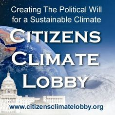 Sustainable Climate Environmental advocate: Citizens Climate Lobby Opportunity - VolunteerMatch