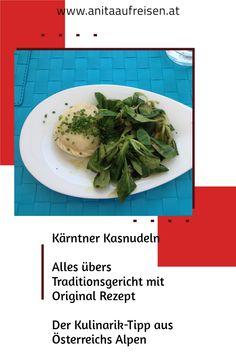 Was musst du bei einer Reise in Kärnten unbedingt einmal probieren? Die Kärntner Kasnudeln! In meinem Beitrag verrate ich dir alles über das Highlight der österreichischen Küche. Du kannst dir Urlaubsstimmung mit einem Rezept nach Hause holen und selbst einmal das Krendeln ausprobieren. Warum das zur Kärntner Küche gehört, genauso wie die Nudelminze verrate ich natürlich aus. Der Geschmack der Alpen auf dem Teller! Slow Food, Teller, Green Beans, Vegetables, Europe, Holiday Recipes, Italian Pasta, Mint, Inspirational