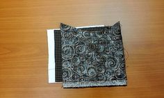 Coin Purse with Zipper Sewing Pattern. DIY tutorial in pictures.  Кошелек-монетница.