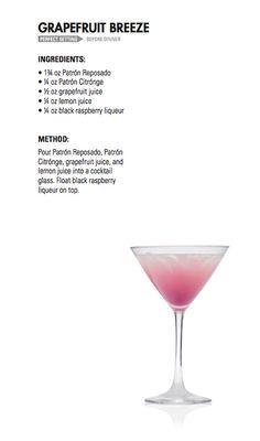 GRAPEFRUIT BREEZE | Patrón Tequila
