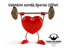 Great Valentine's special couple membership offers @ #GENESIS. Address: 202, Shilp Aaron, Sindhu Bhavan Road, Off S.G. Highway, Bodakdev Contact: 7698622223  #Gym #FitnessCentre #Offers #CityShorAhmedabad