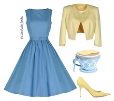 """""""Untitled #177"""" by nochnaifyria on Polyvore featuring Betty Blue, Jimmy Choo and Kate Spade"""